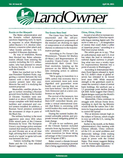 LandOwner - April 2021