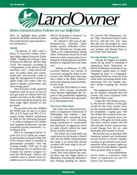 LandOwner - March 2021