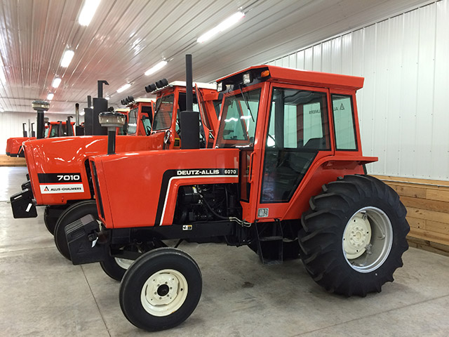 Prices from Allis Chalmers Collector Auction Today