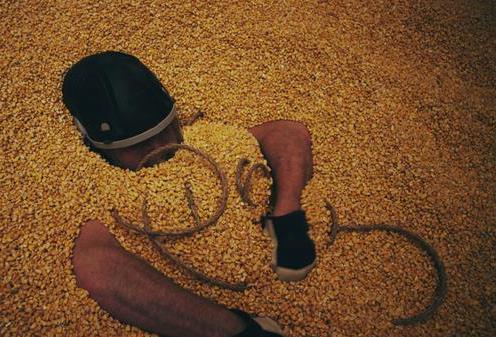 TV Show Recreates Young Farmer's Narrow Escape From Grain Bin - AgWeb