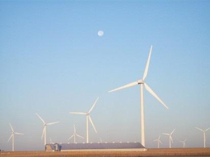 Farmland Forecast   Farm Management Services Schober Cheney Colvin Wind Turbine Wright County Iowa Value 2012