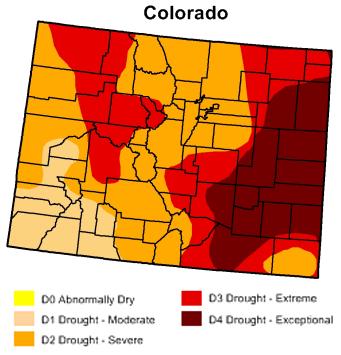 colorado drought monitor 5 12 13