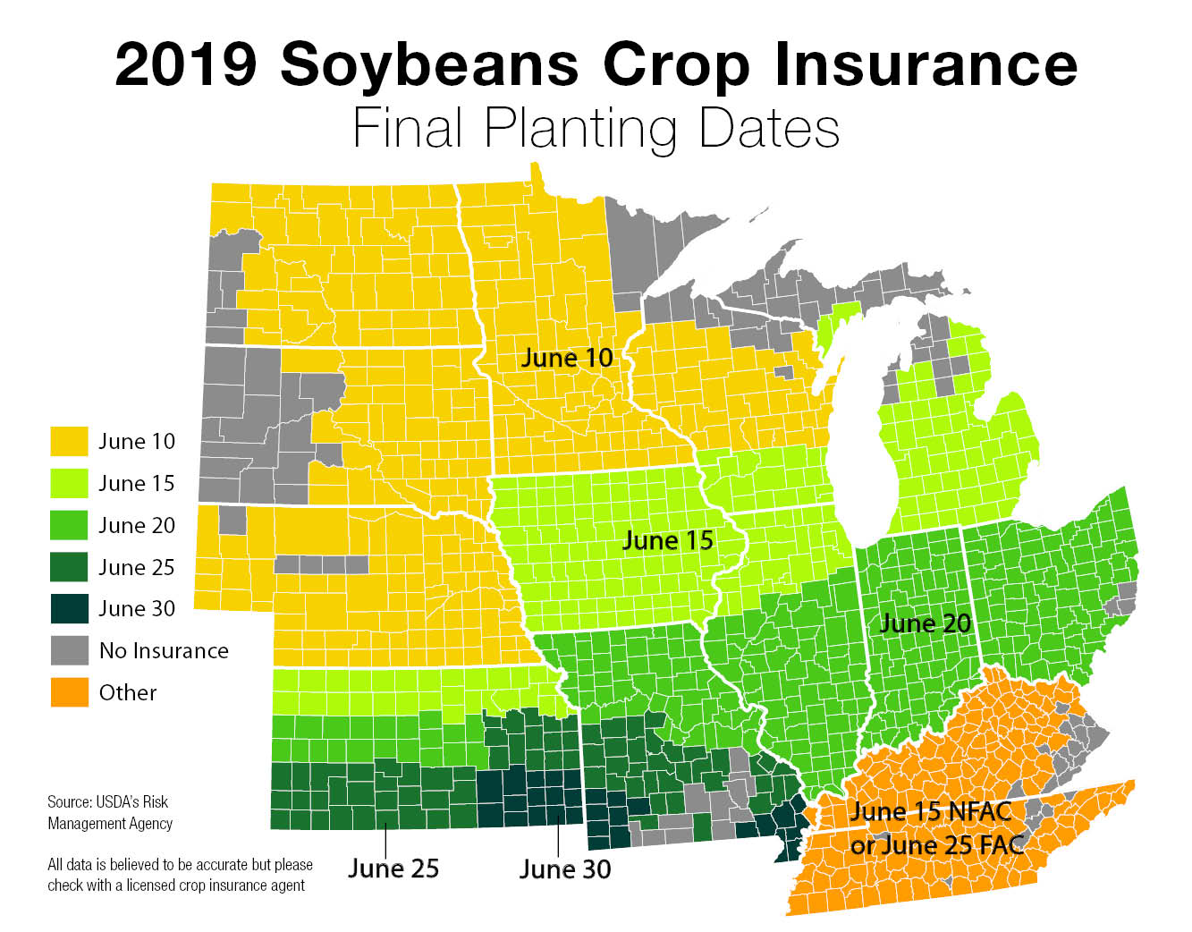 2019 soybean final planting dates