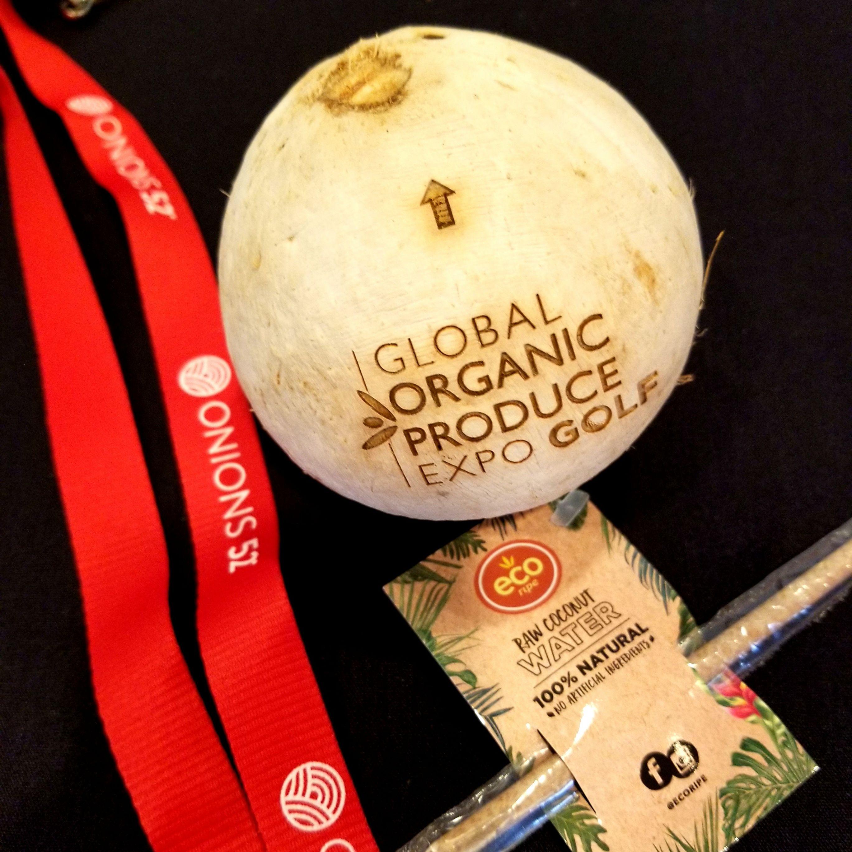 органические кокосы