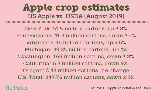 Apple exports