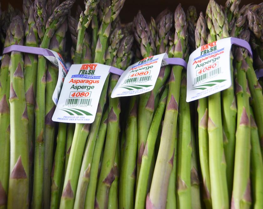 jersey fresh asparagus