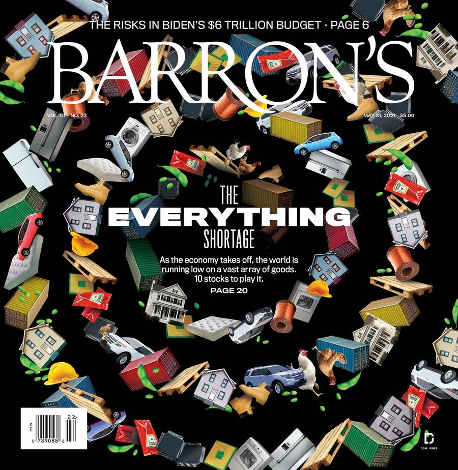 Barron's cover page