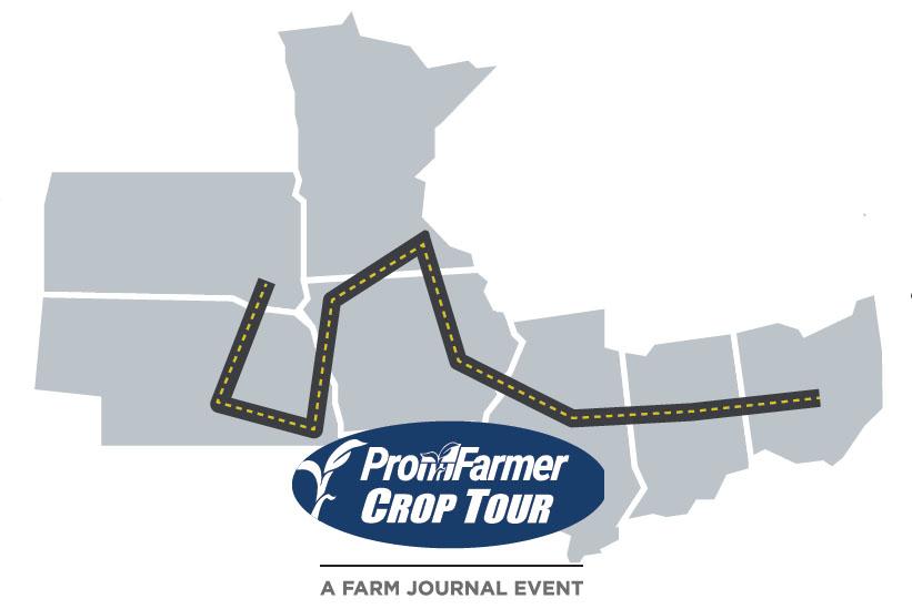 Crop Tour Map