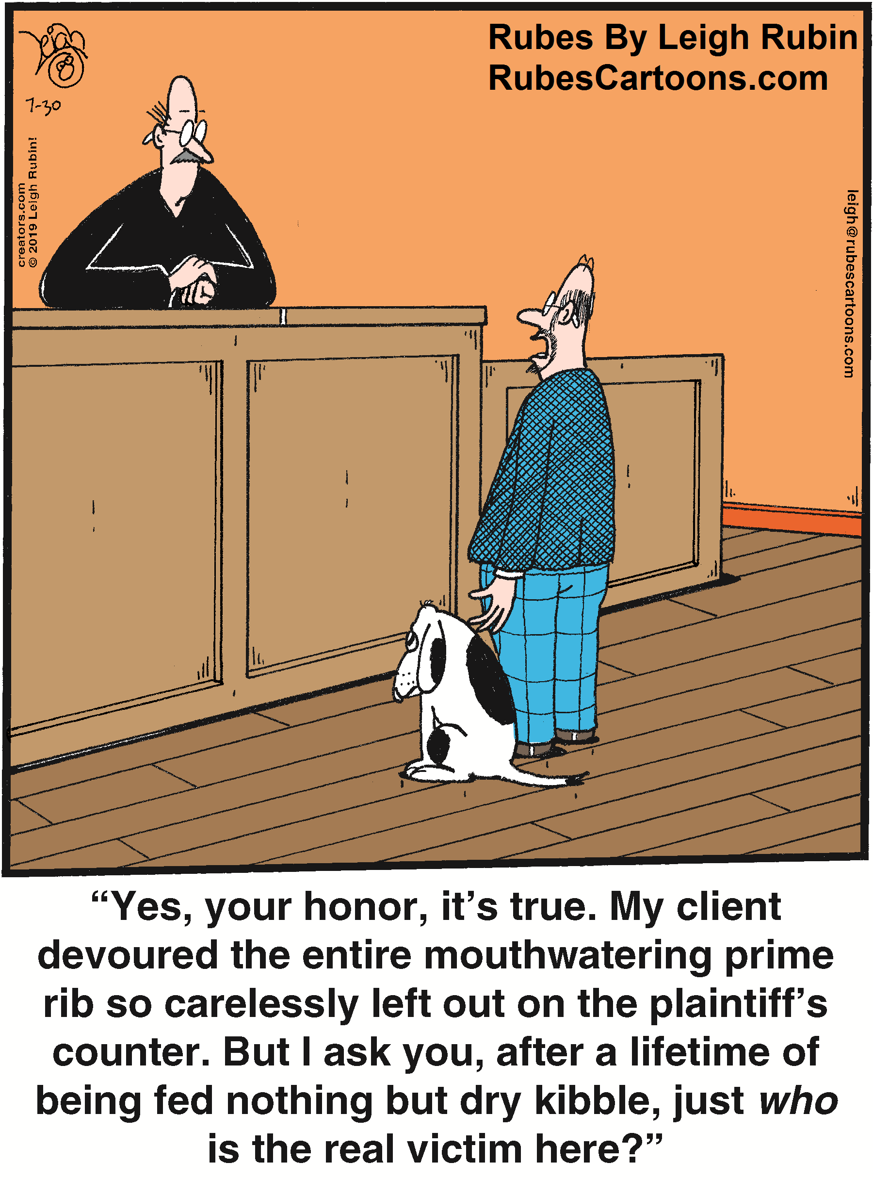 Every dog has  it's day...In Court