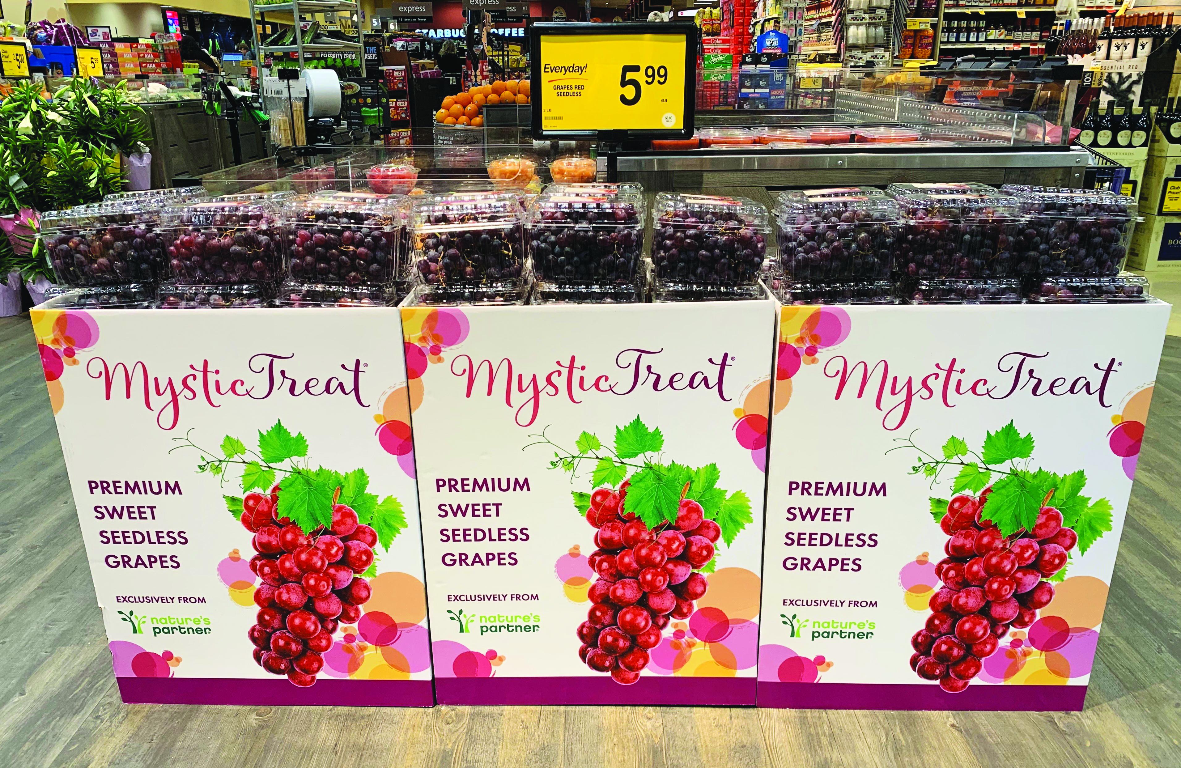 Grape display