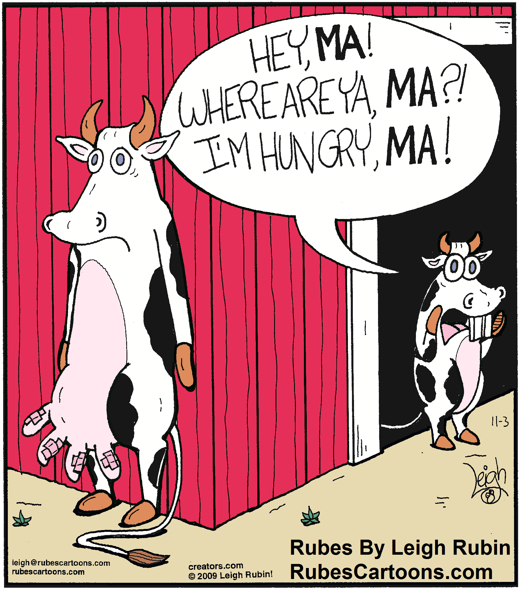 Oh my, the udder pain!