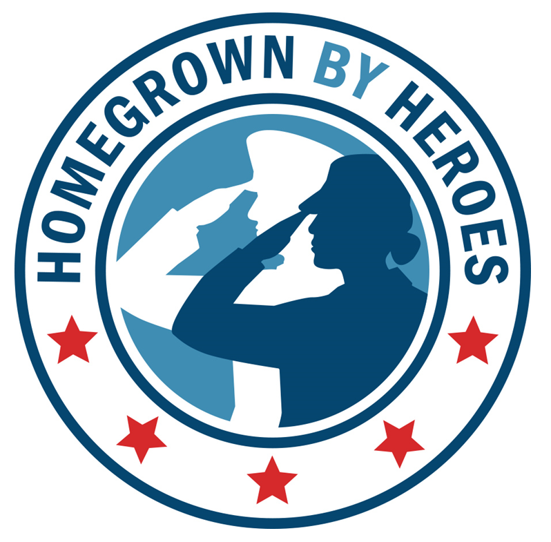 Homegrown by heroes logo