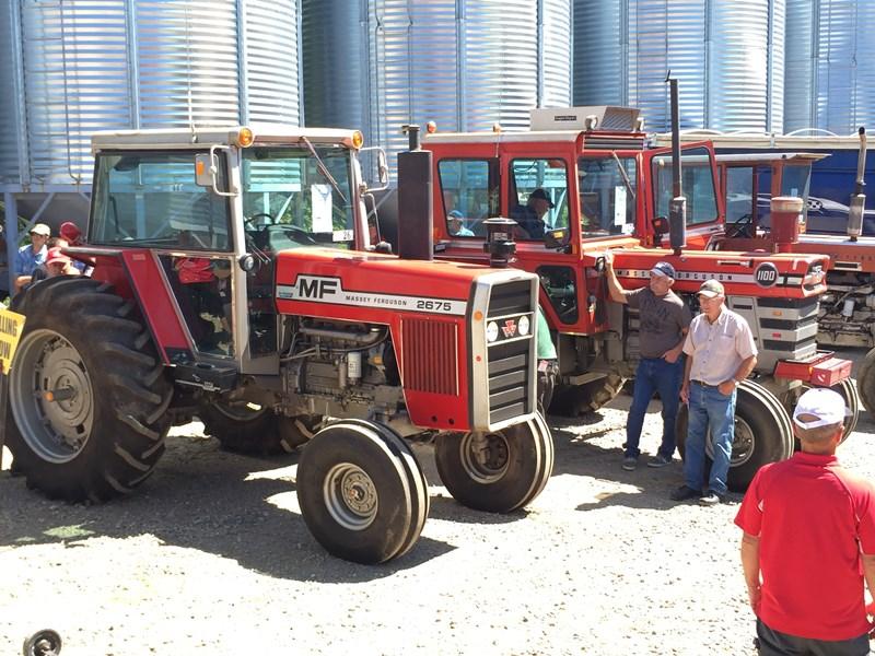 Record Prices on Massey Ferguson Tractors