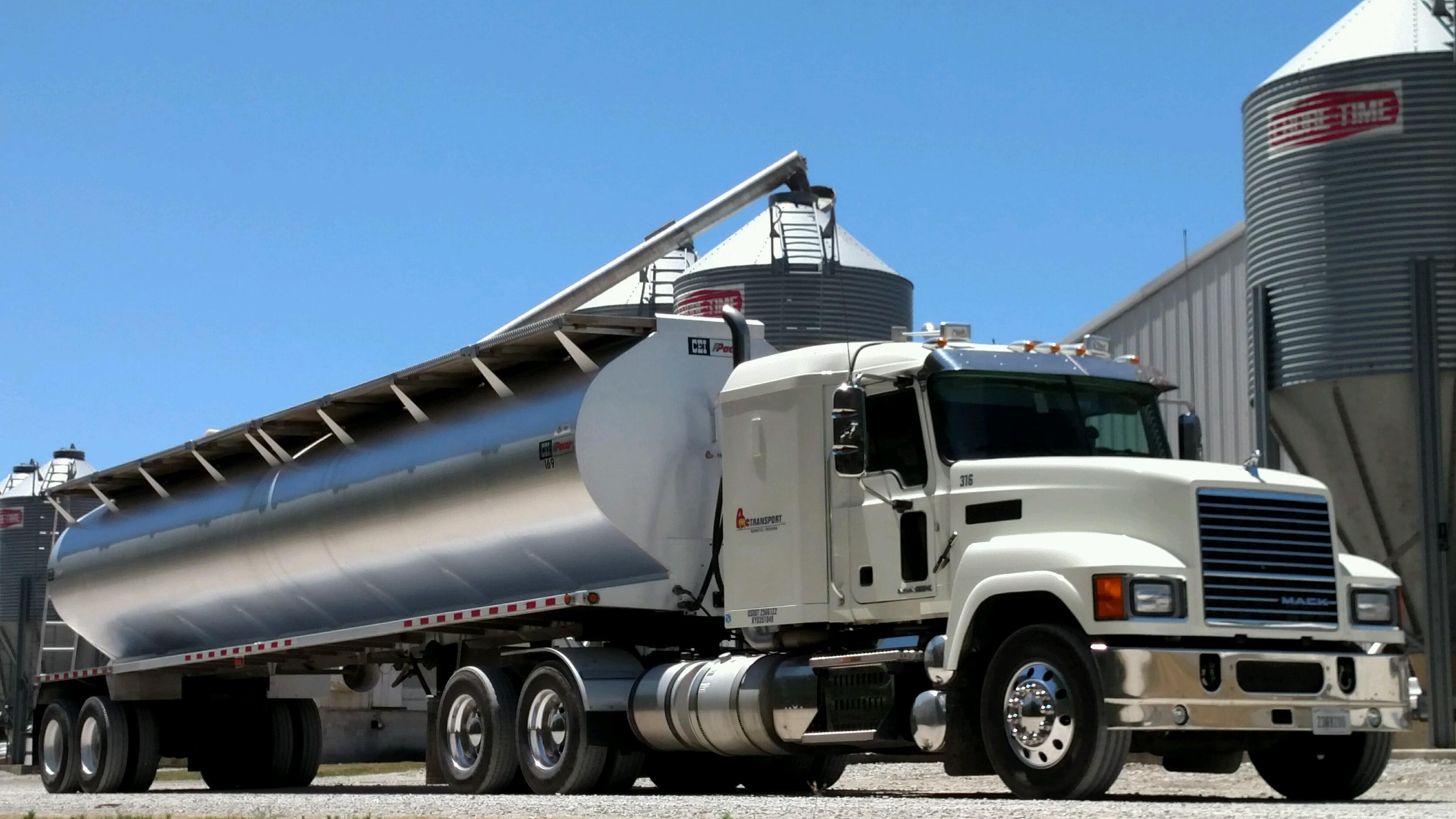 Belstra Milling Truck