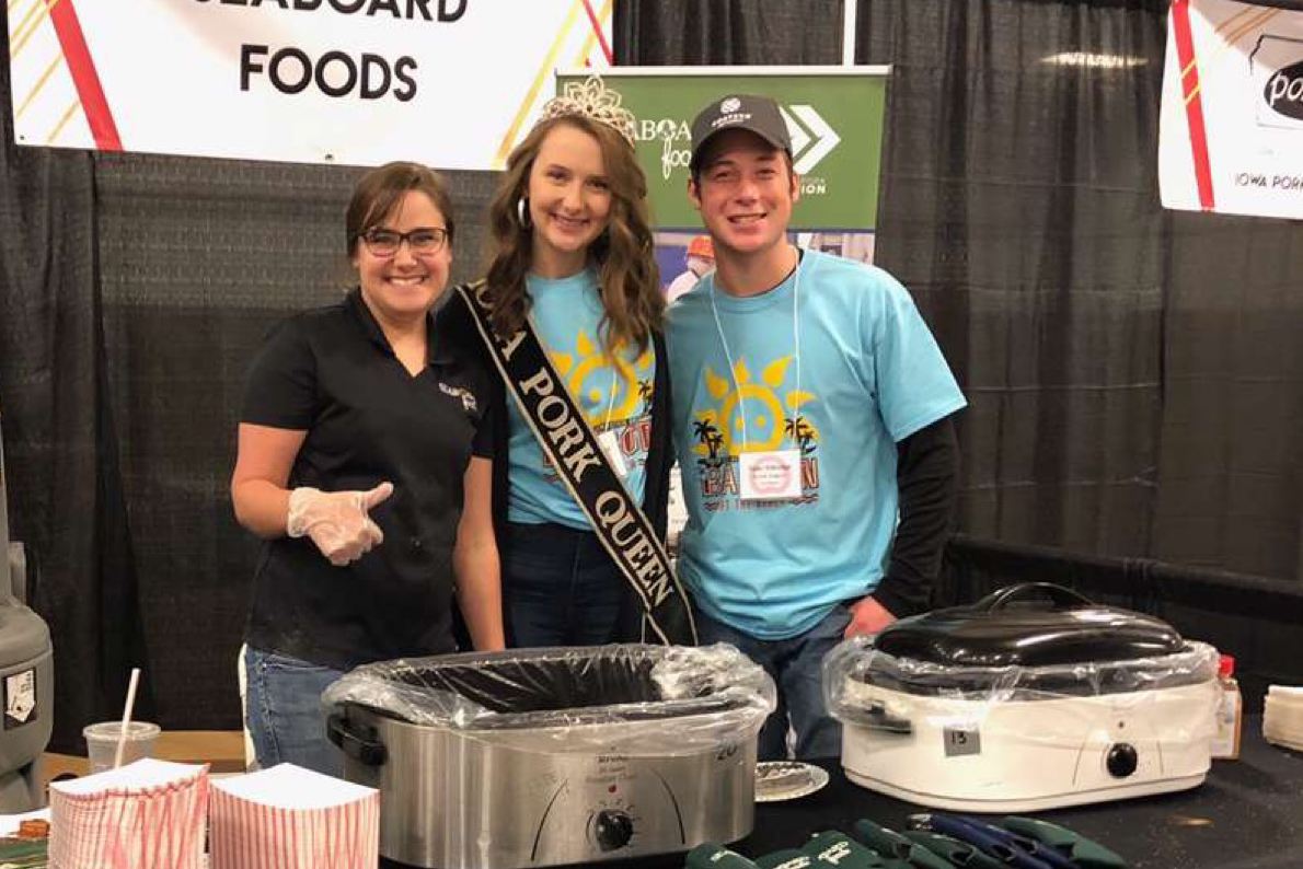 Gracie Greiner at Bacon Expo