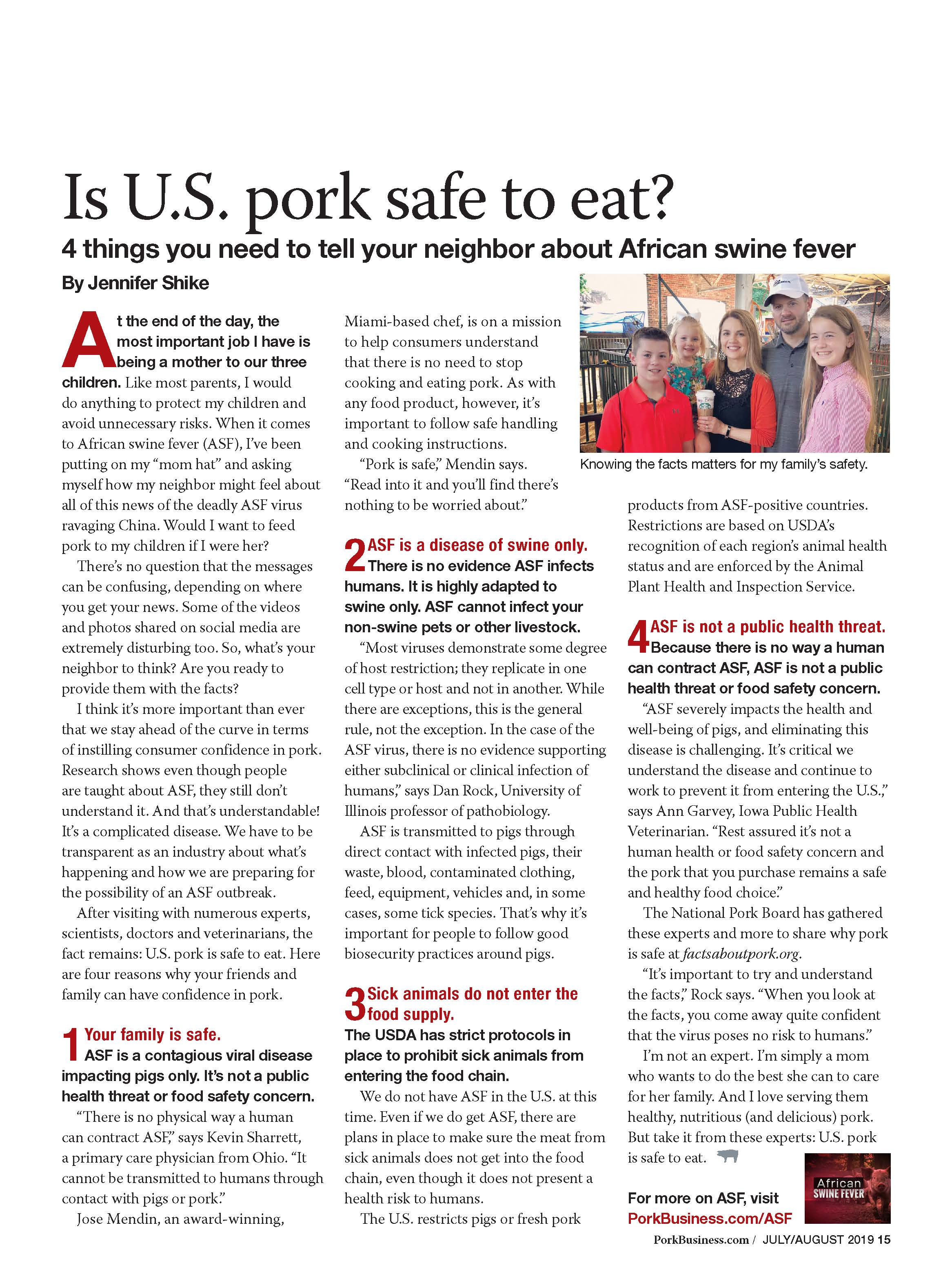Is US Pork Safe to Eat