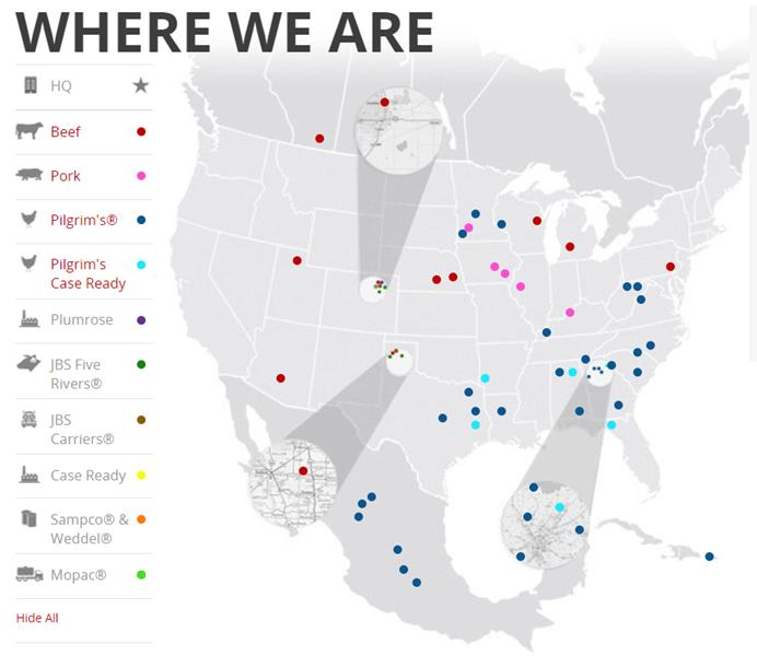 JBS Map