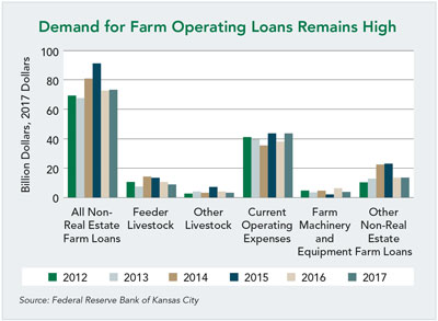 Demand for Farm Operating Loans Remains High
