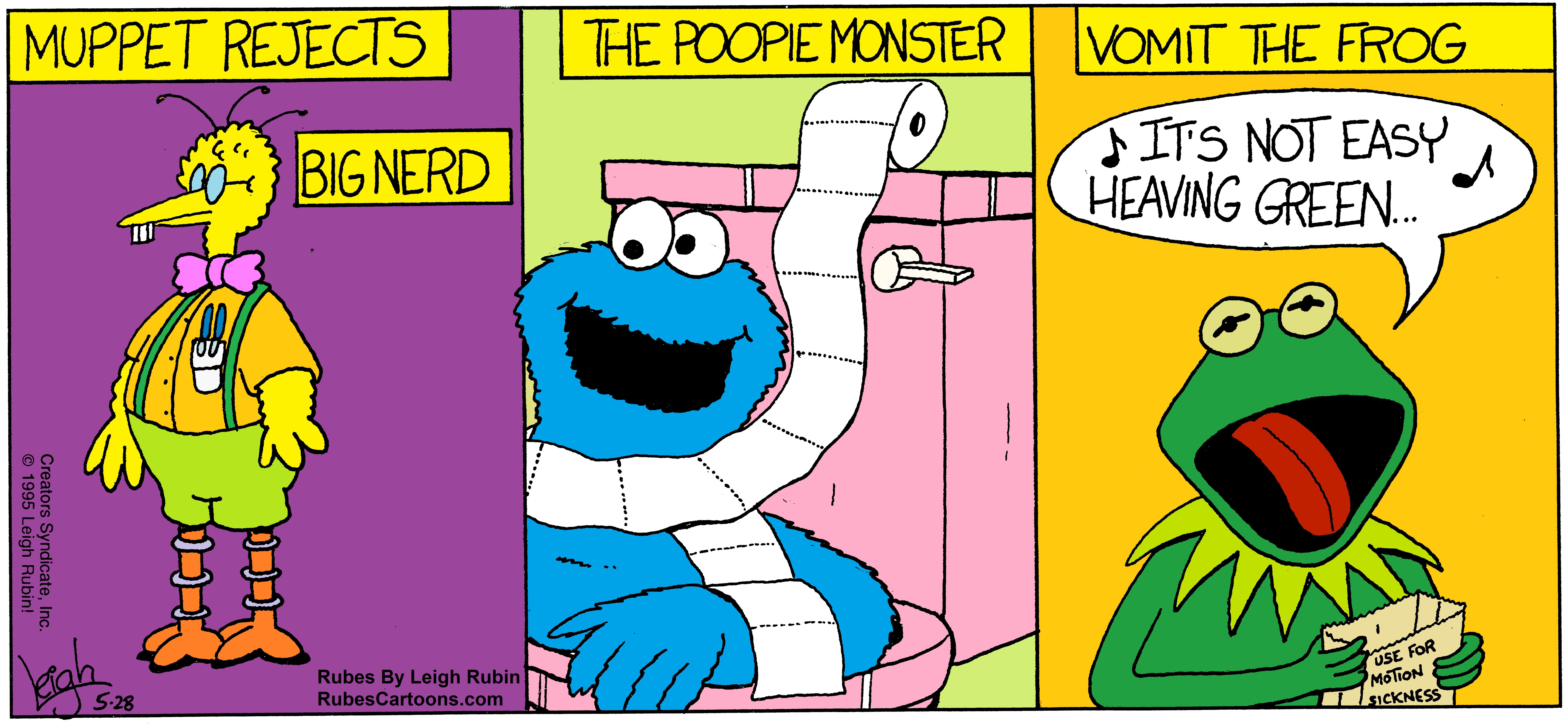 Where Sesame Street Dead Ends.