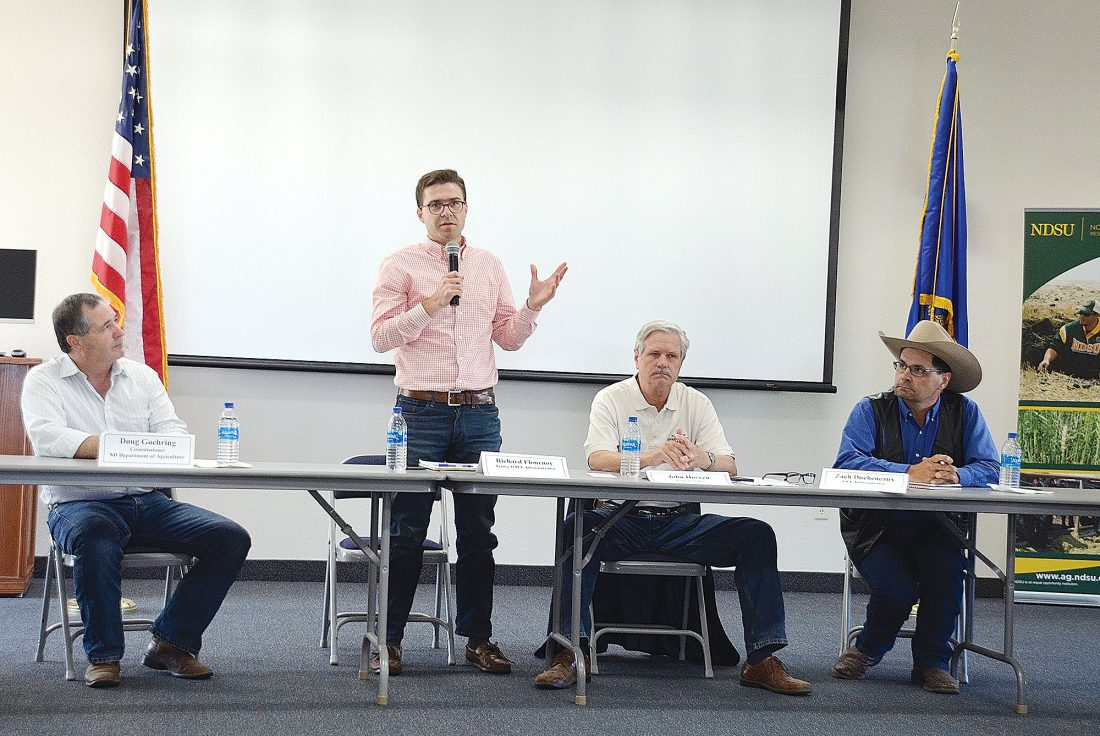 North Dakota drought meetings