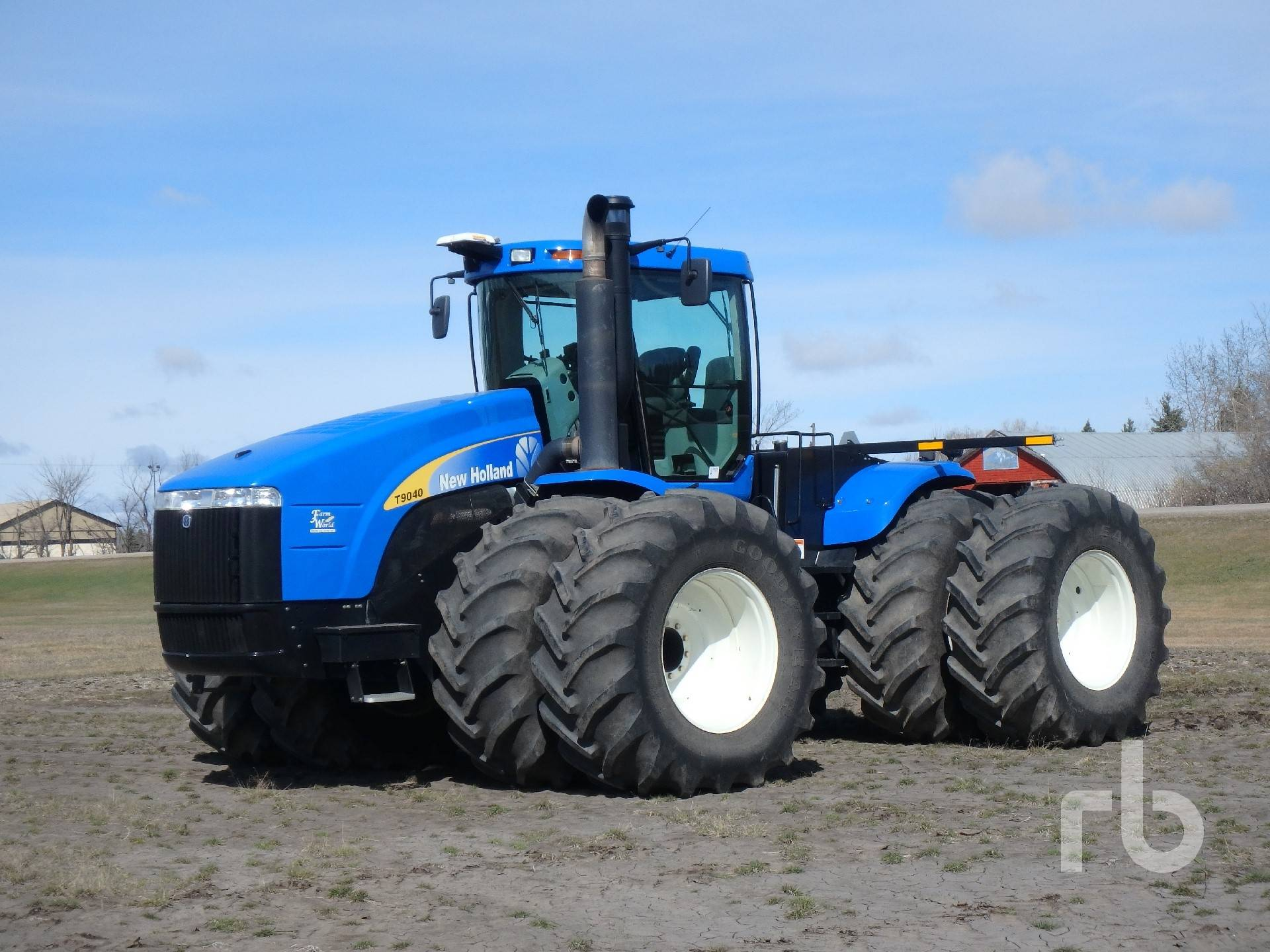 2008 New Holland T9020