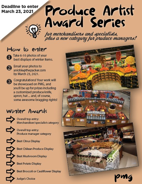 Produce Artist Award Series Flyer