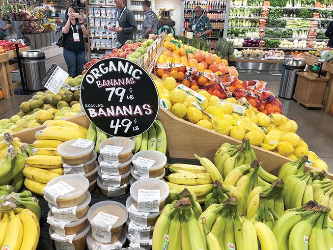Organic retail
