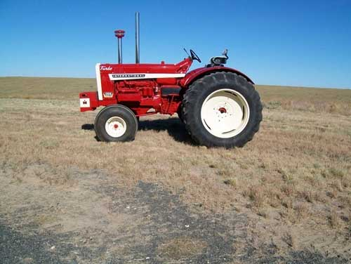 IHC Restored Tractor