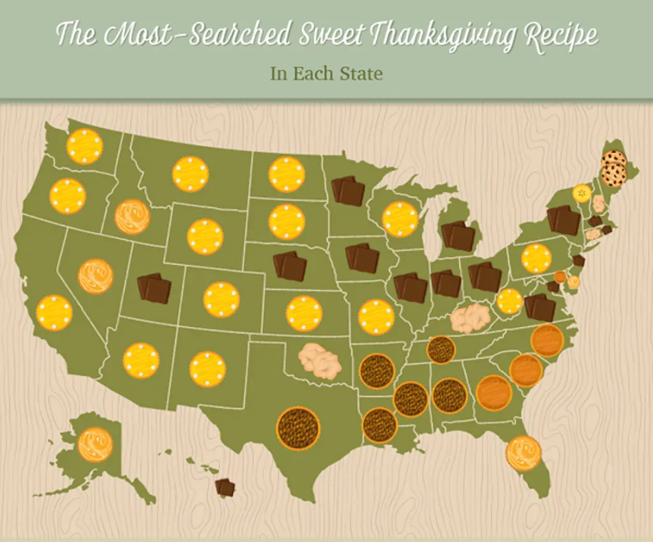House method sweets map