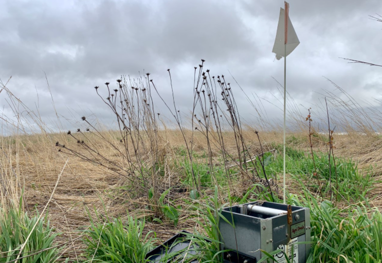 Rob Stout was one of the first farmers in his area to use a bioreactor.
