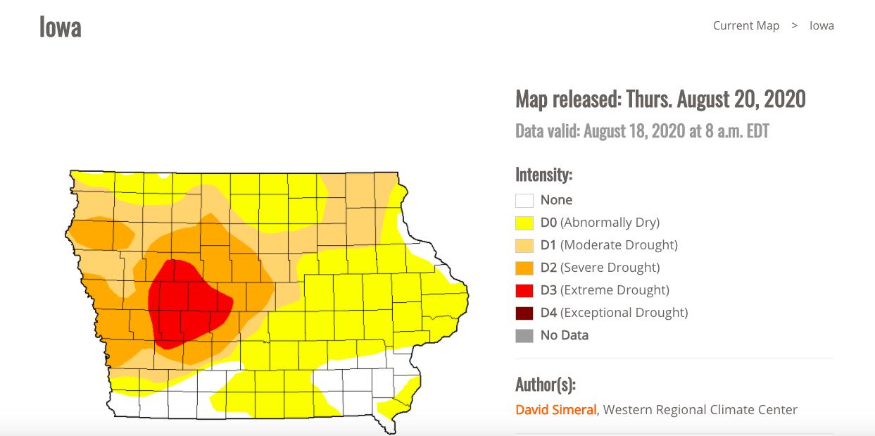courtesy: U.S. Drought Monitor