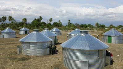 Sukup Builds Village of Hope in Haiti with Grain Bins