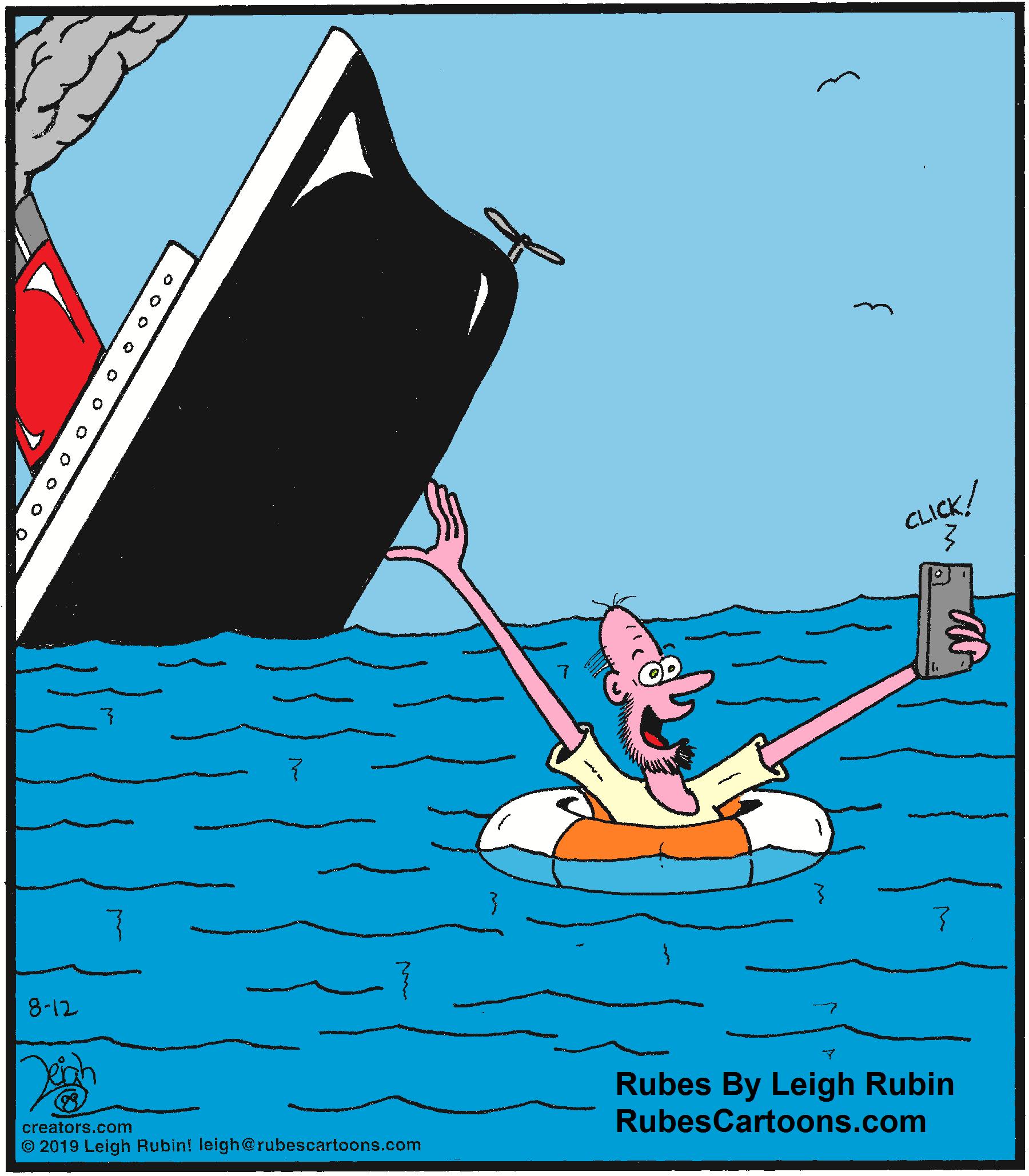 A Titanic selfie