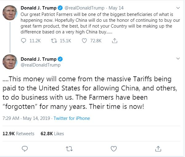 President Trump Tweets