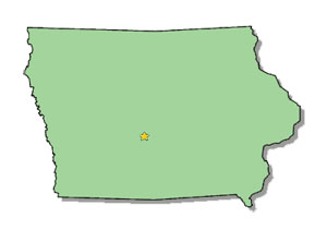US State iowa