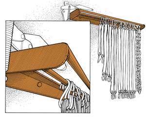 Organize Your Tarp Straps