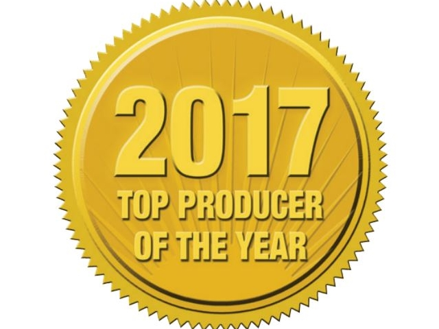 2017 Top Producer of the Year Award