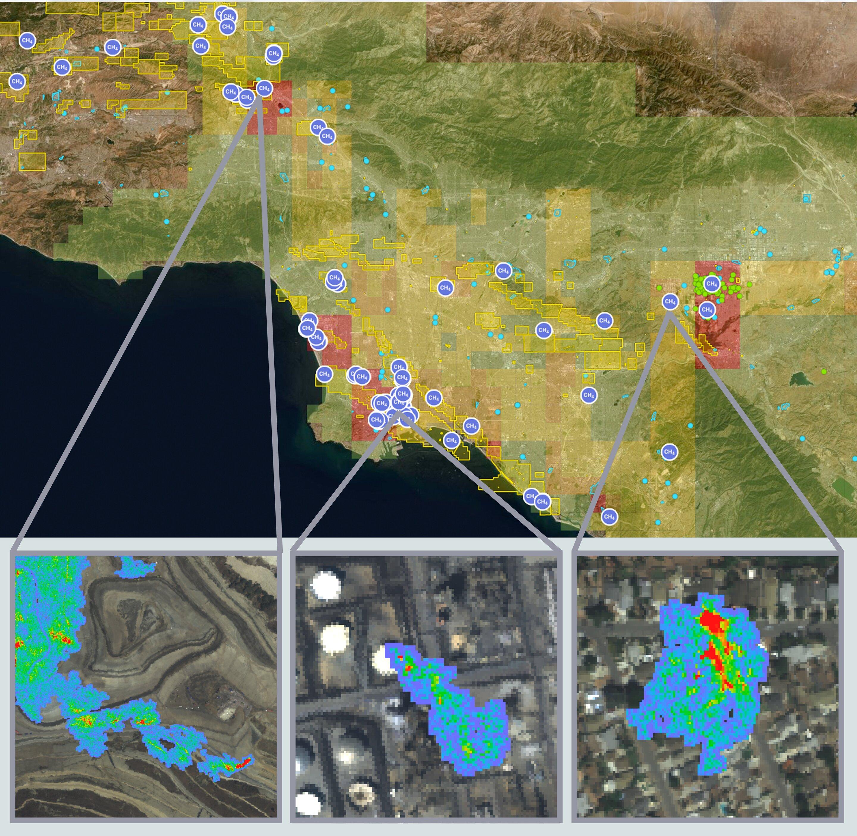NASA Methane Finder