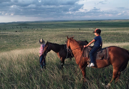 Father and Son Ranchers   South Dakota   NRCS