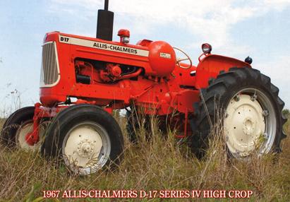 9 Sep 1967 Allis Chalmers D 17 Series IV High Crop