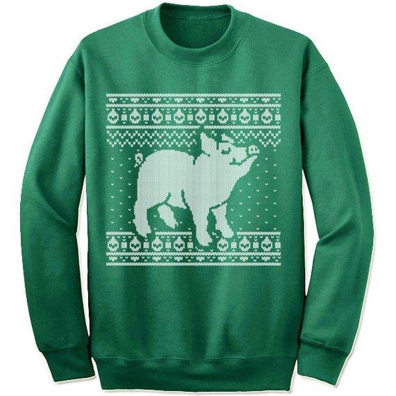 pig sweater