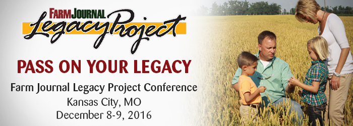 Farm Journal Legacy Project Conference