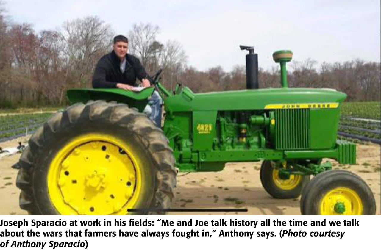 j sparacio tractor