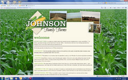 JohnsonFamilyFarms homepage
