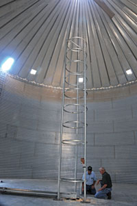 Donald Poore, Grain bin safety 002