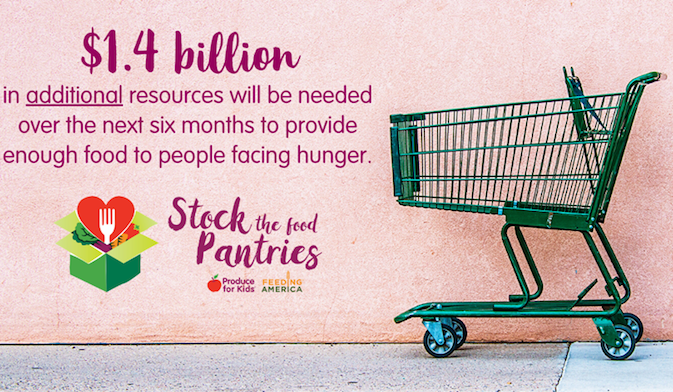 produce for kids graphic on stock the pantries initiative