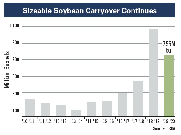 soybean carryover