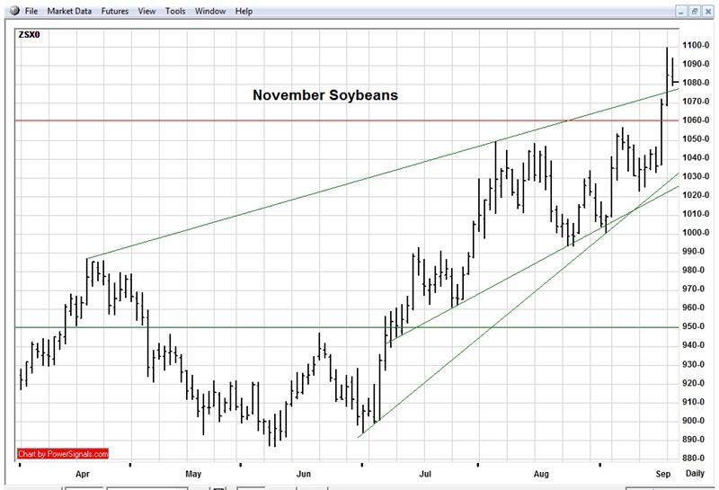 november soybeans 9 22 10