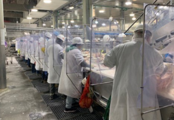 Beef packing plant worker protections