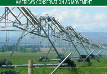 Water use for irrigating most crops decreased.